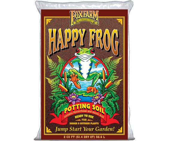 Picture of FoxFarm Happy Frog® Potting Soil, 2 cu ft