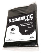Picture of Black White Poly, 10' x 10', 5.5 mil
