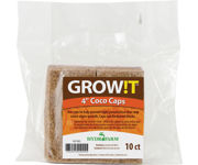 """Picture of GROW!T Coco Caps, 4"""", pack of 10"""
