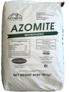 Picture of Azomite Micronized Natural Trace Minerals, 44 lbs