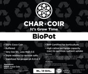 Picture of Char Coir BioPot, 8 L, case of 10