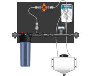 Picture of Dilution Solutions (NDS) Micro-Doser System, 3/4 in Right to Left (Lo-Flo)