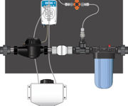 Picture of Dilution Solutions Nutrient Delivery System (NDS) Micro-Doser Kit, 1 1/2 in Left to Right (Hi-Flo)
