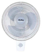 """Picture of Air King 16"""" Oscillating Wall Mount Fan"""