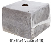 """Picture of GROW!T Commercial Coco, RapidRIZE Block 6""""x6""""x4"""", case of 40"""