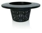 """Picture of Wide Lip Bucket Basket, 6"""", case of 25"""