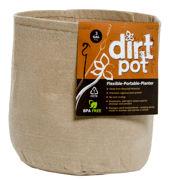 Picture of Dirt Pot Flexible Portable Planter, Tan, 3 gal, no handles