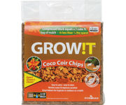 Picture of GROW!T Organic Coco Coir Planting Chips, Block