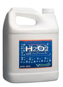 Picture of H2O2 Hydrogen Peroxide, 29%, 4 L, case of 4