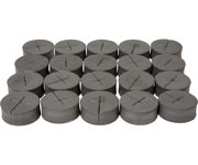 """Picture of oxyCLONE oxyCERTS - 1 7/8"""", Black, pack of 20"""
