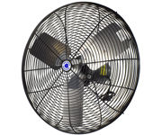 """Picture of Schaefer 20"""" Oscillating Fan Head with OSHA Guards - Black"""