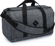 Picture of Revelry Supply The Continental Large Duffle, Striped Black