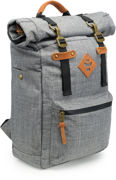 Picture of Revelry Supply The Drifter Rolltop Backpack, Crosshatch Grey