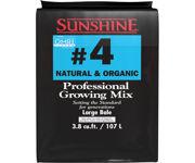 Picture of SunGro Horticulture Sunshine Natural & Organic Mix #4, 3.8 cu ft