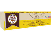 """Picture of True Liberty Bin Liners, 48"""" x 30"""", Pack of 25"""