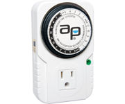 Picture of Autopilot Analog Grounded Timer, 1725W, 15A, 15 Minute On/Off, 24 Hour