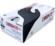 Picture of Carbonite HD Black Nitrile Gloves, Size M, Box of 100