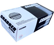 Picture of Grabber Black Nitrile Gloves, Size XL, Box of 100