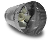 Picture of Vortex Powerfan VTA In-line tube axial 4'', 115V/1PH/60Hz, 66 CFM
