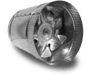 Picture of Vortex Powerfan VTA In-line tube axial 6'', 115V/1PH/60Hz, 210 CFM