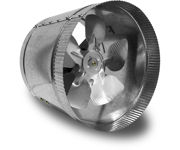 Picture of Vortex Powerfan VTA In-line tube axial 8'', 115V/1PH/60Hz, 332 CFM