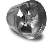 Picture of Vortex Powerfan VTA In-line tube axial 10'', 115V/1PH/60Hz, 411 CFM